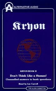 Cover of: Don't Think Like a Human (Kryon)
