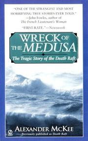 Cover of: Wreck of the Medusa | Alexander McKee