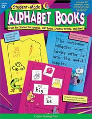 Cover of: Student-Made Alphabet Books