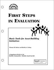 Cover of: First Steps in Evaluation