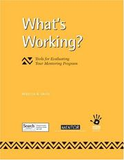 Cover of: What's Working? Tools for Evaluating Your Mentoring Program