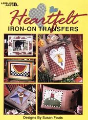 Cover of: Heartfelt Iron-on Transfers | Susan Fouts