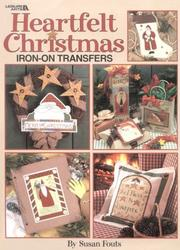 Cover of: Heartfelt Christmas Iron-On Transfers