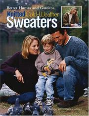 Cover of: Knitted Cold-Weather Sweaters (Leisure Arts #3505)