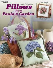 Cover of: Pillows from Paula's Garden (Leisure Arts #3493)