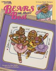 Cover of: Bears at their Best (Leisure Arts #3643)