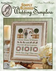 Cover of: Simply Blessed Wedding Samplers (Leisure Arts #24026)