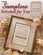 Cover of: Samplers Stitched for You (Leisure Arts #3515)