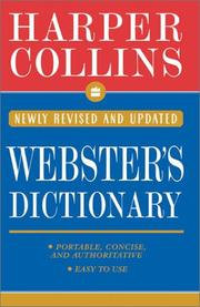 Cover of: Collins Webster's Dictionary