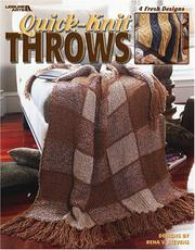 Cover of: Quick-Knit Throws (Leisure Arts #3615)