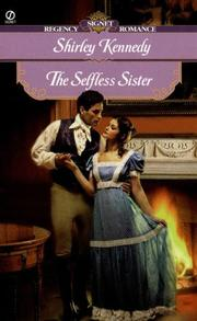 Cover of: The selfless sister | Shirley Kennedy