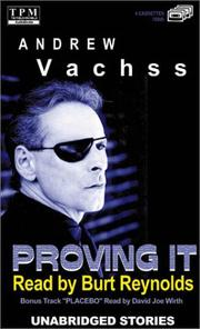 Cover of: Proving It