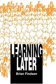 Cover of: Learning Later