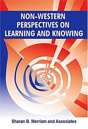 Cover of: Non-Western Perspectives On Learning and Knowing: Perspectives from Around the World
