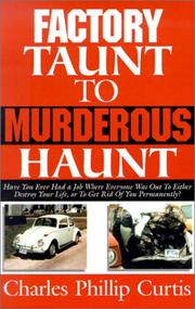 Cover of: Factory Taunt to Murderous Haunt