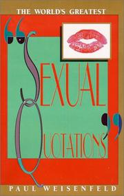 Cover of: The World's Greatest Sexual Quotations