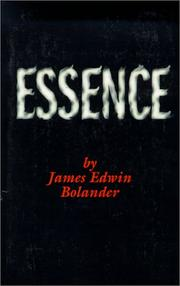 Cover of: Essence
