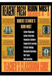 Cover of: Teacher's Classroom Guide to Robert Stanek's Ruin Mist