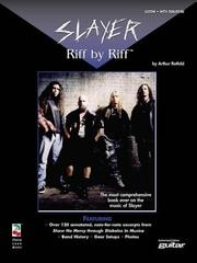 Cover of: Slayer - Riff by Riff
