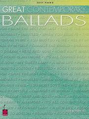 Cover of: Great Contemporary Ballads | Hal Leonard Corp.