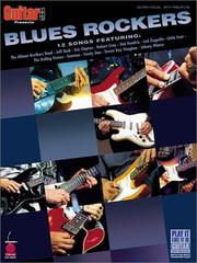 Cover of: Guitar One Presents Blues Rockers (Play-It-Like-It-Is) |