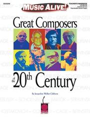 Cover of: Great Composers of the 20th Century
