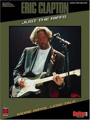 Cover of: Eric Clapton - Just the Riffs