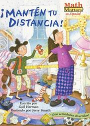 Cover of: Manten Tu Distancia!/keep Your Distance! (Math Matters En Español)