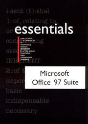 Cover of: Microsoft Office 97 Suite
