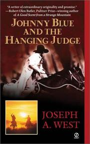 Cover of: Johnny Blue and the hanging judge