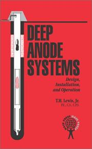 Cover of: Deep Anode Systems