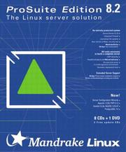 Cover of: Mandrake Linux ProSuite 8.2