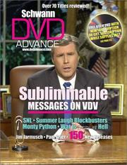 Cover of: Schwann DVD Advance