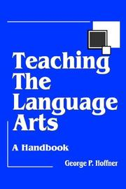 Cover of: Teaching the Language Arts