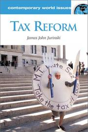 Cover of: Tax Reform