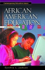 Cover of: African American Education