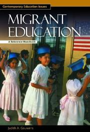 Cover of: Migrant Education | Judith A. Gouwens