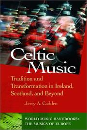 Cover of: Celtic Music