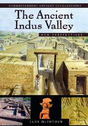Cover of: The Ancient Indus Valley | Jane McIntosh