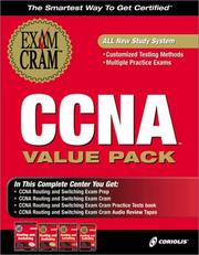 Cover of: CCNA Routing and Switching Value Pack (Exam: 640-507)