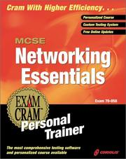 Cover of: MCSE Networking Essentials Exam Cram Personal Trainer (Exam: 70-058)
