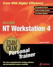 Cover of: MCSE NT Workstation 4 Exam Cram Personal Trainer (Exam: 70-073)
