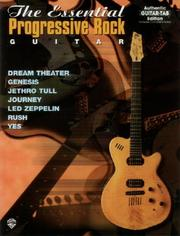 Cover of: The Essential Progressive Rock Guitar | Colgan Bryan