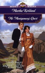 Cover of: Mr. Montgomery's quest