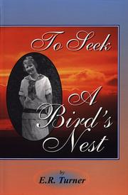 Cover of: To Seek a Bird's Nest