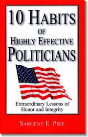 Cover of: 10 Habits of Highly Effective Politicians