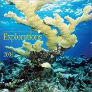 Cover of: Explorations 2004 Engagement Diary