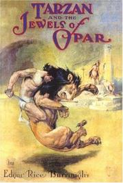 Cover of: Tarzan and the Jewels of Opar (Found in the Attic, 19)