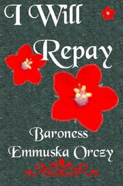 Cover of: I Will Repay