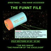 Cover of: The Funnt File Vol. 2 - The Big Shave/The Phantom of the Excelsior